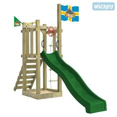 Wooden climbing frame Wickey Castle Minodor