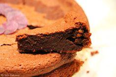 Brownies à la pomme de terre Vitelotte