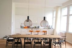 dining table feature lights - Google Search