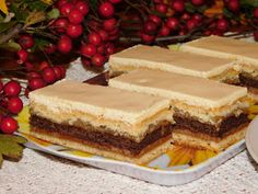 Gerdi süti: Rózsa szelet Baked Goods, Tiramisu, Cheesecake, Baking, Pastries, Ethnic Recipes, Food, Cheesecakes, Bakken