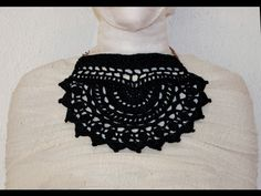 Dark Crochet | 100% cotton_handmade | MADE IN ITALY #handmade