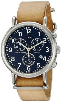 Timex Unisex TW2P623009J Weekender Forty Analog Display Analog Quartz Brown Watch