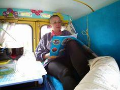 Reisemobil aus Kasten-Ente / Motor caravan made of Citroen box wagon / Upcycling