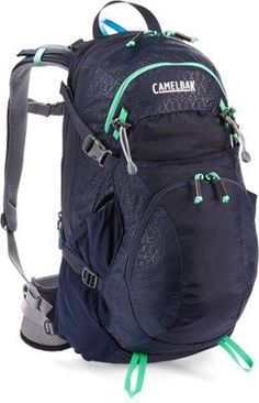The CamelBak Sequoia 22 hydration pack offers a 3-liter reservoir to keep you hydrated on the trail, plus a ventilated back panel with molded pods that move with your body while letting air circulate. Available at REI, 100% Satisfaction Guaranteed.