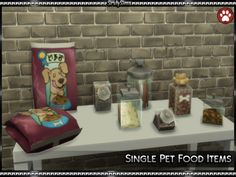 SrslySims : I needed these for a pet shop I am working on and...