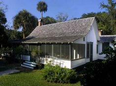 Old Florida style; I believe this is Marjorie Kinnan Rawlings house at Cross Creek near Micanopy.