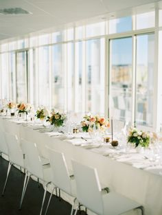 Modern reception: http://www.stylemepretty.com/2015/03/13/modern-malibu-wedding-reception/   Photography: Ashley Kelemen - http://ashleykelemen.com/