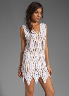 Click to view pattern for - Crochet white dress