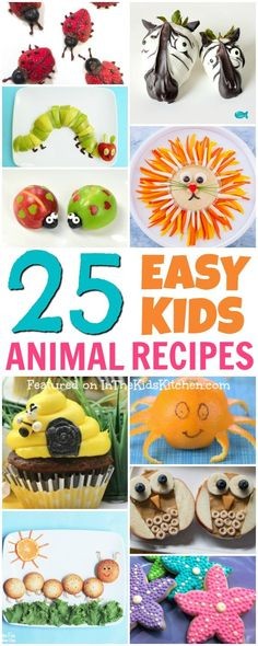 kids nutrition Whether it's making snack time fun or creating a wow-worthy party spread, little eaters are guaranteed to go wild over kids snacks that look like animals! Cute Kids Snacks, Toddler Snacks, Healthy Snacks For Kids, Kid Snacks, Class Snacks, Healthy Salads, Healthy Food, Animal Themed Food, Animal Snacks