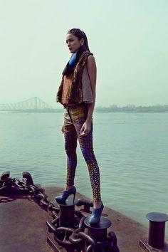 Urban Patterned Fashion : Modern Media China January 2014