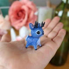 Midnight Fawn by TheLittleMew on Etsy