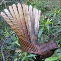 Awesome flax fantail and it's simple!