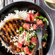 The 15 Best Gluten-Free Crock Pot Recipes Gochujang Recipe, Watermelon Salad, Summer Bbq, Sweet And Spicy, Healthy Summer, Healthy Dinner Recipes, Crockpot Recipes, Crock Pot, Gluten Free