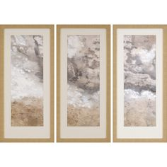 Great for Earthen II' by Jardine - 3 Piece Picture Frame Painting Print Set on Paper Wall Art Decor from top store Paper Wall Art, Metal Wall Art, Framed Wall Art, Wall Art Decor, Framed Prints, Painting Frames, Painting Prints, Classic Picture Frames, Wall Art Sets