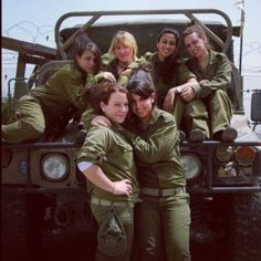 'Northern boundary of the state of Israel.' Women make up almost one-third of the force, and 50 per cent of its officers, making the Isreal Defence Forces one of the most gender-equal units in the world