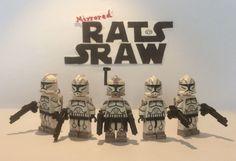 Lego Star Wars minifigures - Clone Custom Troopers - PRIVATE SALE FOR SHRIKE-2-1