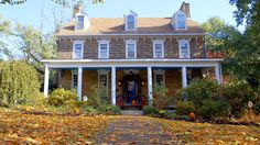 """Just outside of Pittsburgh, PA, is the historic Century Inn. Former President Andrew Jackson, known as """"Old Hickory"""" for being """"tough as nails,"""" was a regular guest at the hotel. Visit the hotel today to see their largest collection of historic antiques and have a stay in Andrew Jackson's room."""