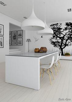 20 Wonderful Black and White Contemporary Living Room Designs - ArchitectureArtDesigns.com