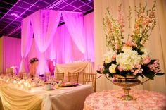 Wedding Reception Soft Pink & Ivory
