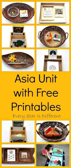 Montessori-inspired Asia Unit with free printables #learnjapaneseforkidslessonplans