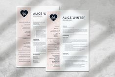 Registered Nurse Resume, Cover Letter and References. Nursing Resume CV in Resume Templates on Yellow Images Creative Store Nursing Resume Examples, Nursing Resume Template, Resume Design Template, Creative Resume Templates, Cv Template, New Grad Nurse, Rn Nurse, Nursing Cv, Registered Nurse Resume
