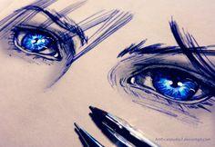 Cloud Strife Eyes by CatStudio7