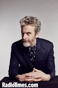 Bad news: Doctor Who isn't filming right now. Good news: Capaldi's off-duty facial hair is pretty spectacular