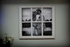 I am actually working on a project very similar to this with an old barn window I found at my parents!!