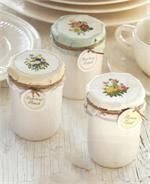 Fruit Preserve Candles in Creamware Jar