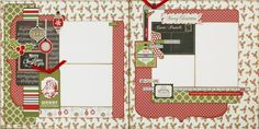 Merry and Bright 2 page layout (Medium)