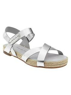 The Casual-Chic Look - Gap, Espadrille sandals, $59.95