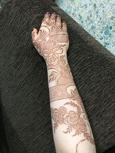 Henna Design By Fatima Wedding Henna Designs, Latest Henna Designs, Rose Mehndi Designs, Basic Mehndi Designs, Henna Hand Designs, Indian Mehndi Designs, Mehndi Designs 2018, Modern Mehndi Designs, Mehndi Designs For Girls