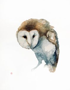 Karl Martens, Barn Owl (Hungerford Gallery)