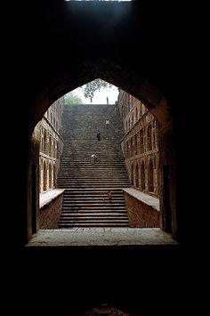 Stepwell    Agrasen stepwell in New Delhi #Abish Travels