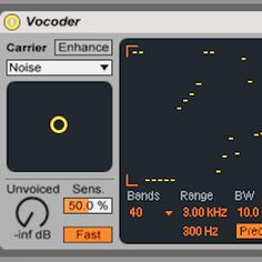 Harmonic Sound Design with Ableton Live's Vocoder : AskAudio Magazine
