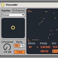 Harmonic Sound Design with Ableton Live's Vocoder