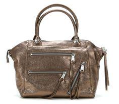 wardow.com - George Gina & Lucy, Get Weirder Lush Bag Shopper Leder gold 45 cm