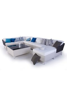 Modular outdoor furniture set