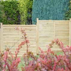 Modern fencing or screening this highly finished specification Grange Contemporary Vogue high Fencing Panel with 10 year anti-rot guarantee. Garden Fence Panels, Garden Arbor, Garden Fencing, Modern Fence Design, Timber Posts, Pressure Treated Timber, Garden Buildings, Outdoor Chairs, Outdoor Decor