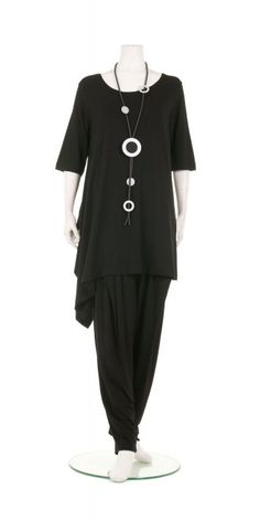 Xenia Design Yna asymmetric premium jersey tunic, 95% viscose/5% elastane, £129.00 | idaretobe