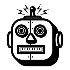 Biased Facial Recognition - a Problem of Data and Diversity Dr. Brown, Robot Icon, Royalty Free Icons, Facial Recognition, Icon Design, Thats Not My, Projects, Robots, Cyber