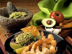 Gebratene Garnelen mit Guacamole ist ein Rezept mit frischen Zutaten aus der Kategorie Garnelen. Probieren Sie dieses und weitere Rezepte von EAT SMARTER!