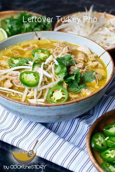 Leftover Turkey Pho in 15 Minutes