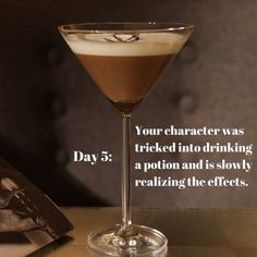 """""""How nice of him to buy me a drink,"""" I thought. Little did I realize, it wasn't an alcoholic beverage, but a potion. """"Are you feeling okay?"""" my friend asked. He must h…"""