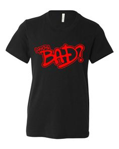 Michael Jackson Who's Bad Youth Short Sleeve by SamSamDesigns