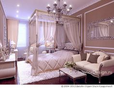 Home Decorating Ideas Kitchen and room Designs Fancy Bedroom, Pretty Bedroom, Dream Rooms, Dream Bedroom, Master Bedroom, Dream Home Design, Home Interior Design, Bedroom Colors, Bedroom Decor