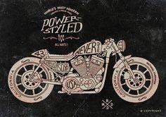 Racing Cafè: Motorcycle Art - BMD Design