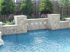 10. Tile, stone, and coping