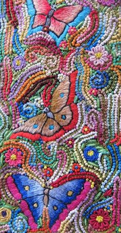 Cotton mexican embroidery thread.https://www.facebook.com/PuchkaPeruTextileTours?fref=photoELENA NUNEZ and ANABEL SANABRIA