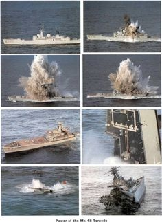 An Australian submarine sunk this decommissioned American vessel with a Mark 48 Advanced Capability (ADCAP) torpedo during RIMPAC 2008.